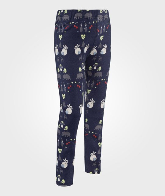 Modéerska Huset Leggings Deep Forest Blue