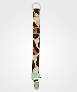 Voksi Pacifier Holder Going Leopard