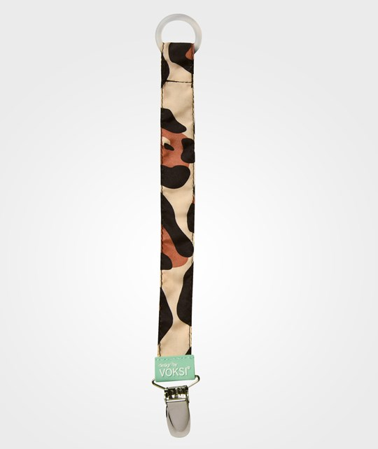 Voksi Pacifier Holder Going Leopard Going Leopard