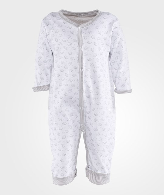 Kissy Kissy Baby Elephants Reversible Playsuit Silver Silver