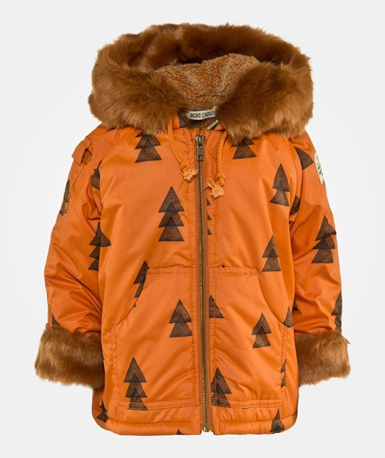 Bobo Choses Anorak Waterproof  Woods AO Brown