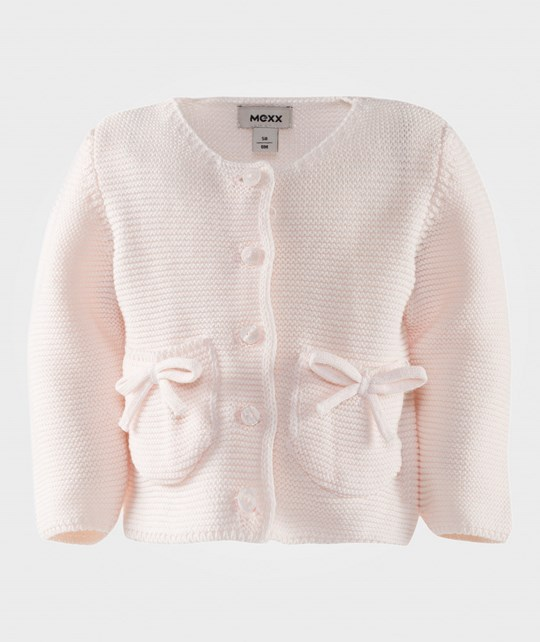 Mexx Knitted Jacket With Pockets Pink Pink