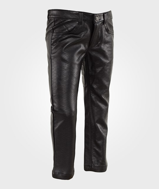 Mexx Black Faux Leather Pants Black