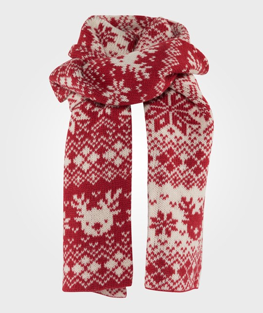 Esprit Knitted Scarf Coral Red Coral Red