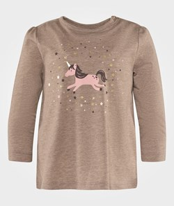 Esprit Horse T-Shirt Dark Brown