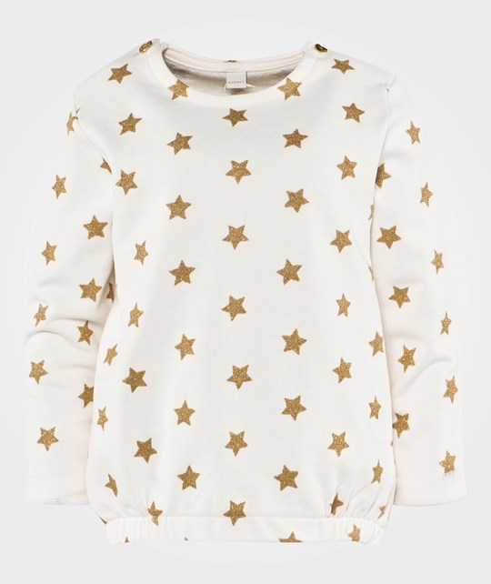 Esprit Star Sweatshirt Off White Off white