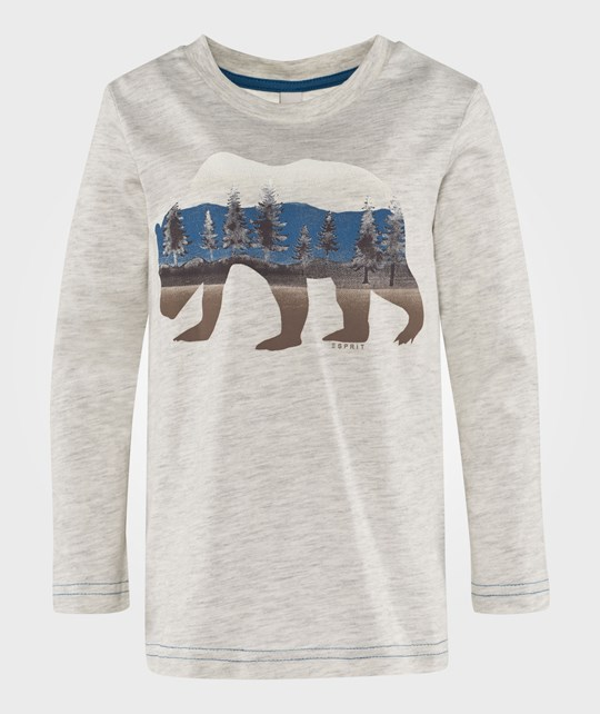 Esprit Bear T-Shirt Light Grey Light Grey