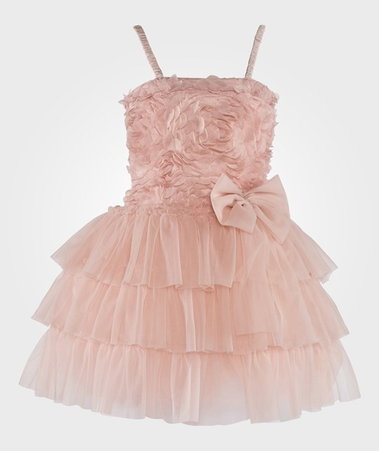 DOLLY by Le Petit Tom Romantic Long Tutu Rose Pink Pink