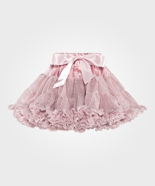 DOLLY by Le Petit Tom Dolly Glitter Pettiskirt Dusty Pink Pink