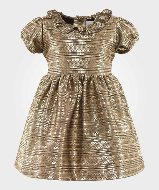 Livly Rosie Dress Golden Guld