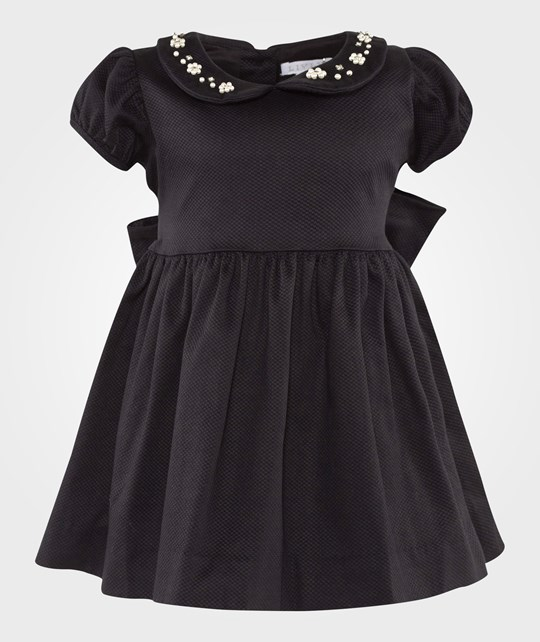 Livly Sophia Dress Black/ Diamonds Svart