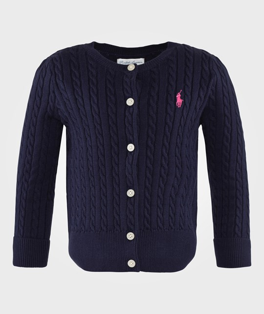 Ralph Lauren Long Sleeve Mini Cable French Navy French Navy