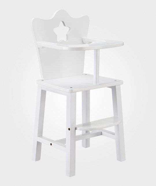 Kids Concept Doll Chair White Valkoinen