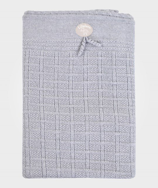 Lillelam Blanket Basic Light Grey Grey