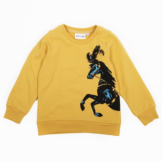Mini Rodini Horse Sweat Ochra Yellow