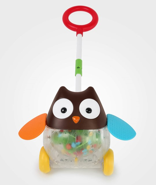 Skip Hop Explore & More Rolling Owl Push Toy Multi