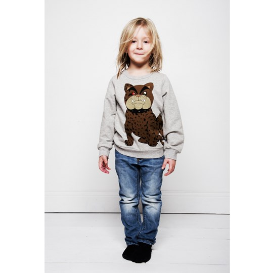 Mini Rodini Bulldog Sweatshirt Black