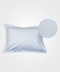 Bliss Herringbone Pillowcase Alaskan Blue