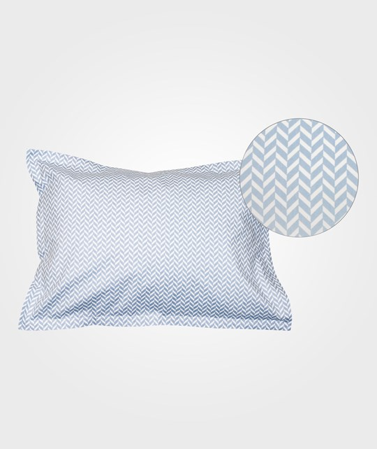 Bliss Herringbone Pillowcase Alaskan Blue Alaskan Blue