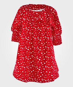 How To Kiss A Frog Dolly Dress Red