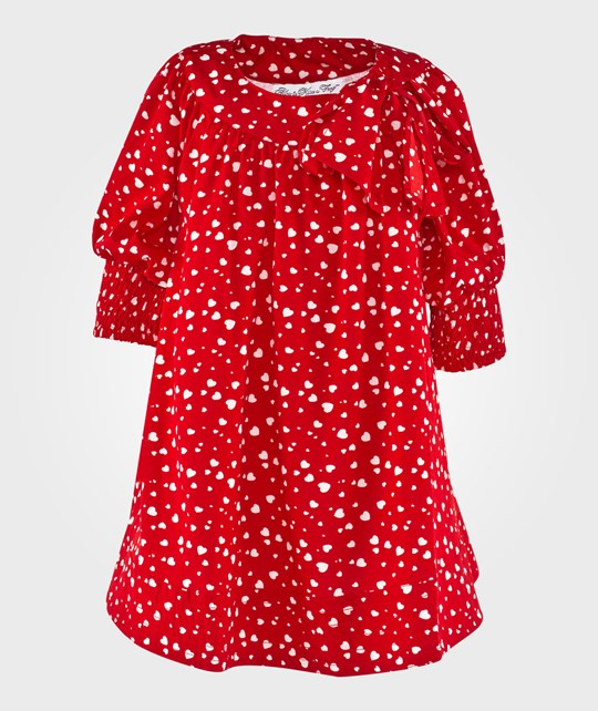 How To Kiss A Frog Dolly Dress Red Rød