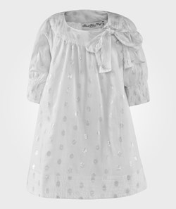 How To Kiss A Frog Dolly Dress White