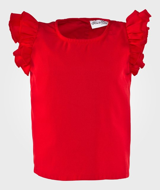 How To Kiss A Frog Grace Top Red Red