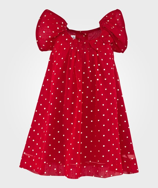 How To Kiss A Frog Mirabelle Dress Red Röd