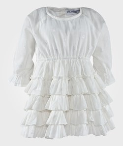 How To Kiss A Frog Viola Dress White
