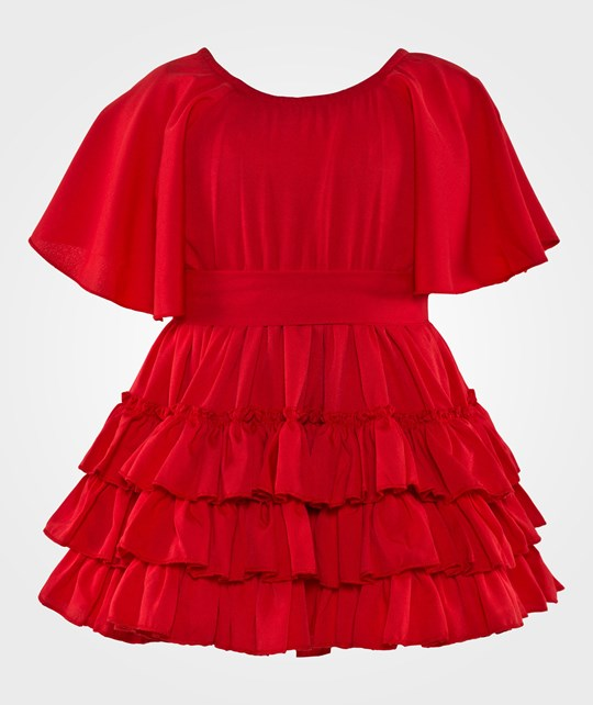 How To Kiss A Frog Isabel Dress Red Rød