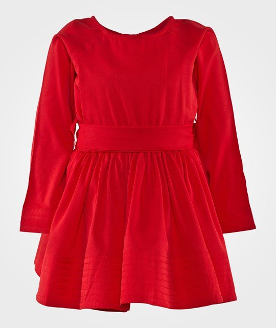How To Kiss A Frog Adele Dress Red Rød