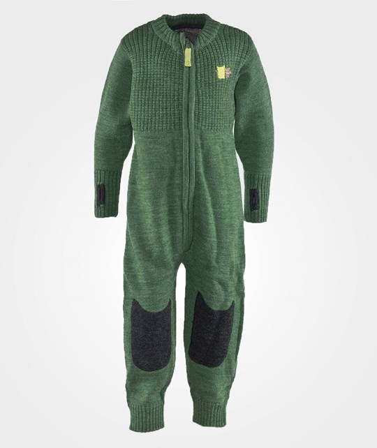 Kattnakken Wool Jumpsuit Green зеленый