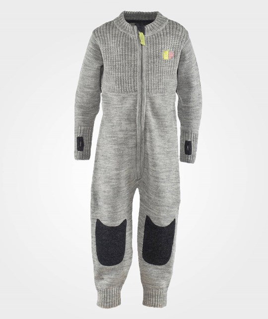 Kattnakken Wool Jumpsuit Grey Grå