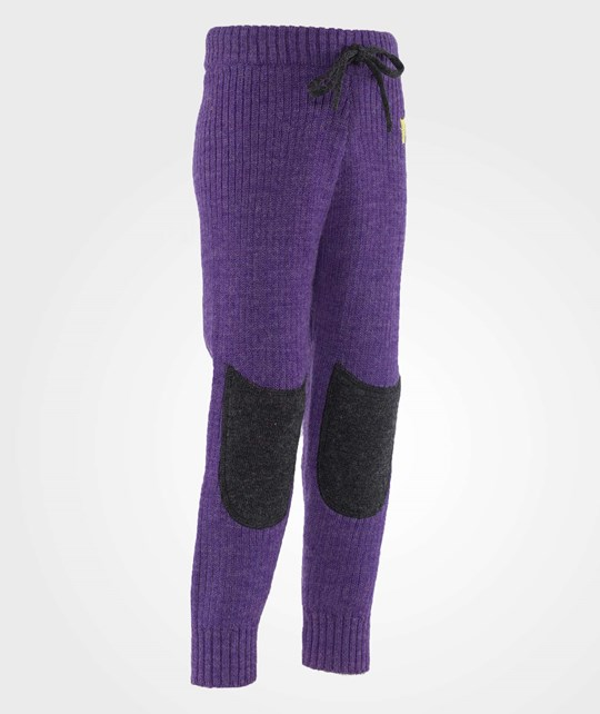 Kattnakken Wool Leggings Purple Lilla