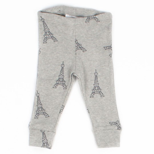 Mini Rodini Eiffeltower Leggings Grå Black