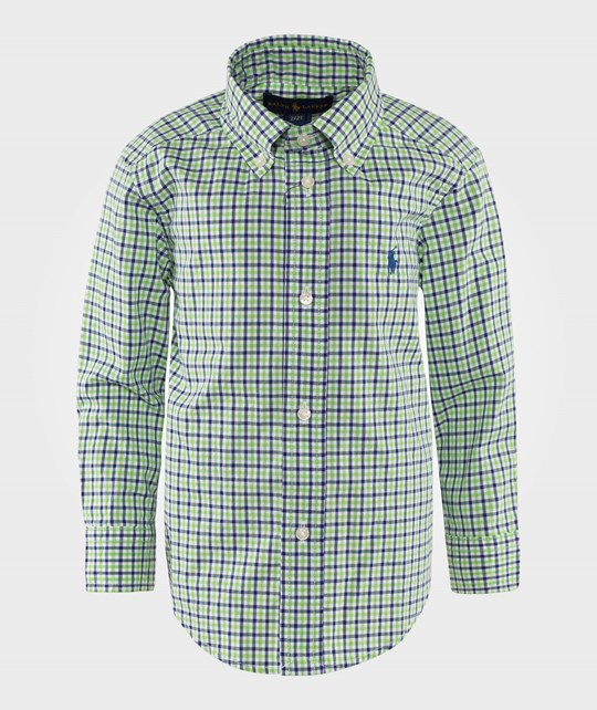 Ralph Lauren Long Sleeved Blake Shirt Green Multi Green Multi