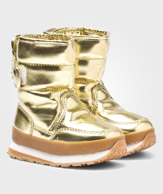 Rubber Duck Classic SnowJoggers/Metallic Gold Toddler Gold