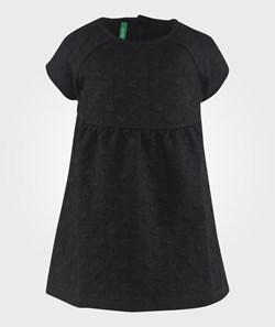 United Colors of Benetton Heart Print Dress Black