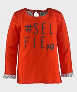 United Colors of Benetton Selfie Xox T-Shirt Red