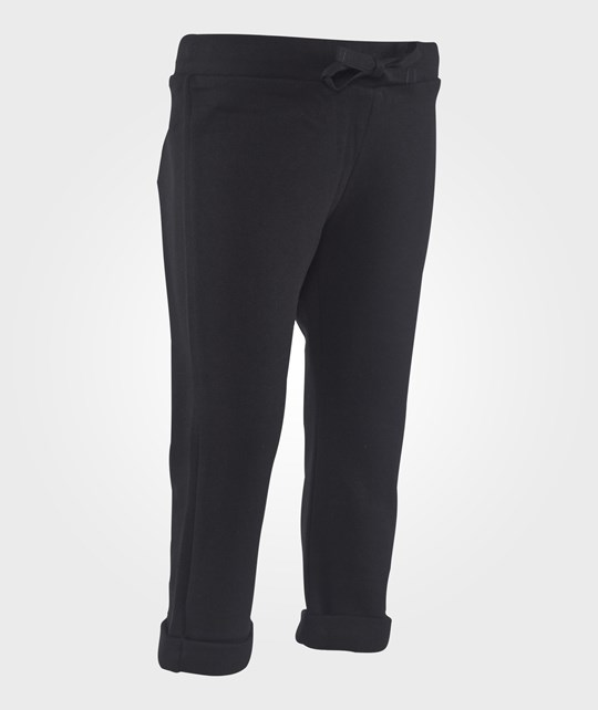 United Colors of Benetton Classic Joggers With Drawstring Waist Black Svart