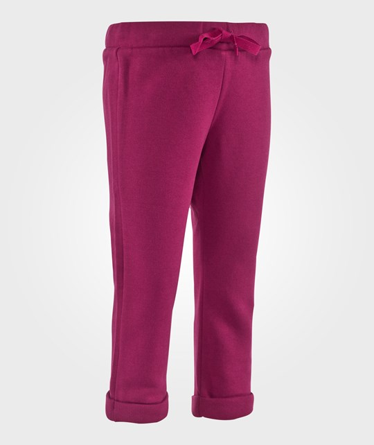 United Colors of Benetton Classic Joggers With Drawstring Waist Fuschia Lyserød