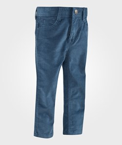 United Colors of Benetton Diamond Print Five Pocket Casual Trouser Navy