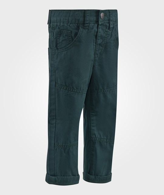 United Colors of Benetton Five Pocket Casual Cotton Trouser Green Grøn