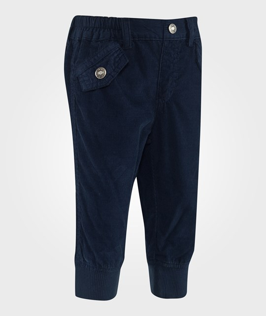 United Colors of Benetton Corduroy Pants Navy Blue