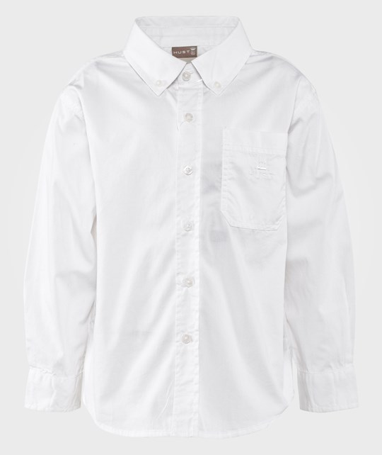 Hust&Claire Classic Shirt White Hvid