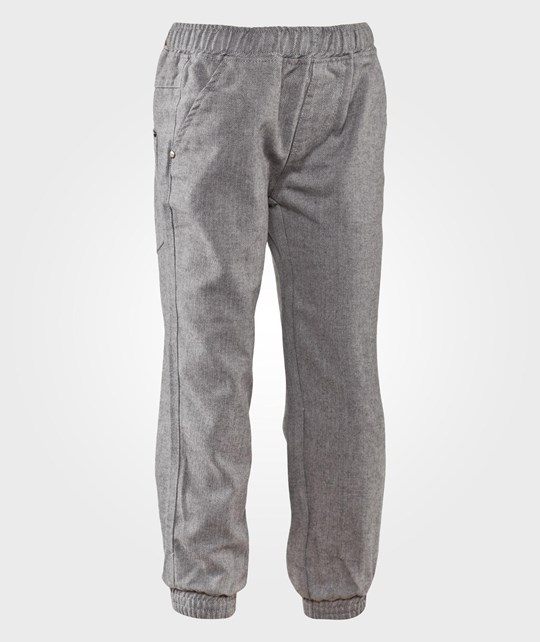 Hust&Claire Herringbone Trousers Grey Harmaa
