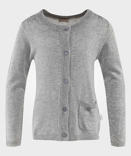 Hust&Claire Cardigan Glitter Silver