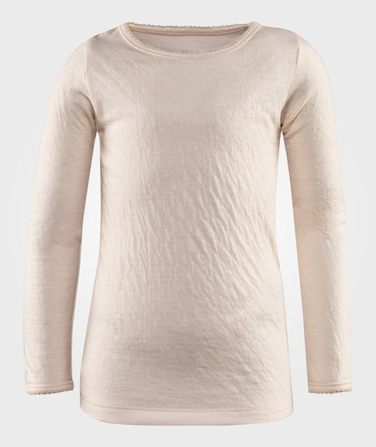 Noa Noa Miniature Mini Basic Wool Doria Long Sleeve Angel Wing Rosa