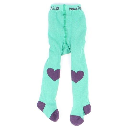 Mini A Ture Stockings Elea Loganberry Green