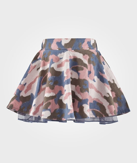 ebbe Kids Hope Skirt Blue/Pink Camo Blue Pink puzzle